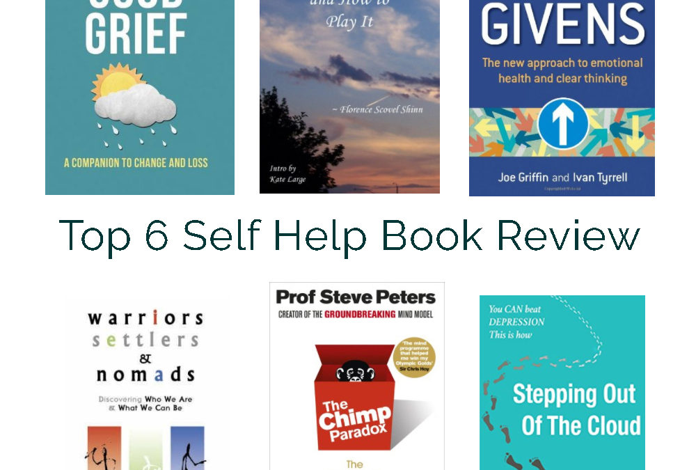 My Top 6 Self Help Books Review