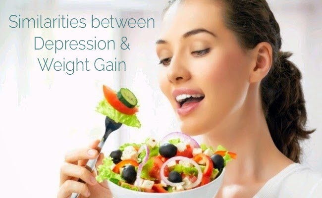 Similarities between Depression and Weight Gain