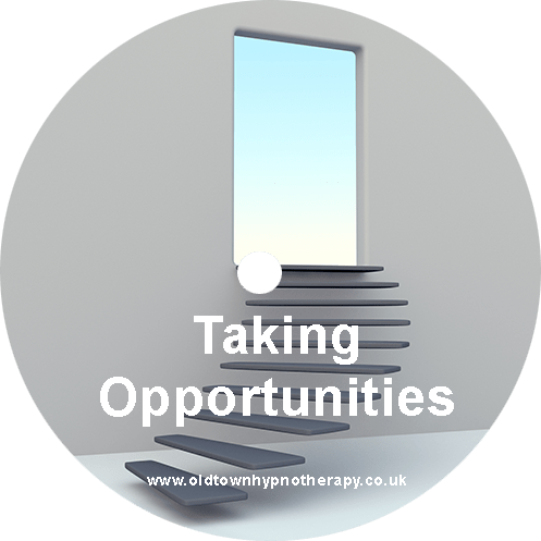 Courage To Take Opportunities