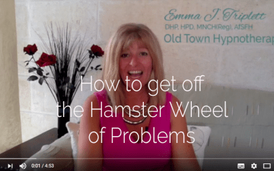 How To Get Off The Hamster Wheel of Problems