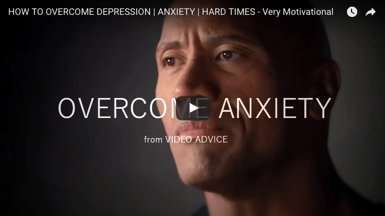 My Top Five Videos On How To Overcome Anxiety and Depression (that made me cry)
